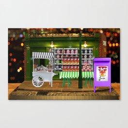 Jam shop Canvas Print
