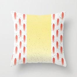 Ceramic Gradient shellac Throw Pillow