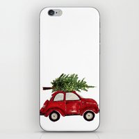 craftberrybush iPhone & iPod Skins featuring Red Christmas Beetle  by craftberrybush