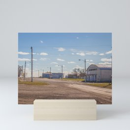 Main Street, Goodrich, North Dakota 1 Mini Art Print