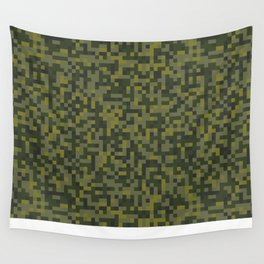 Modern military camouflage pattern 2 Wall Tapestry
