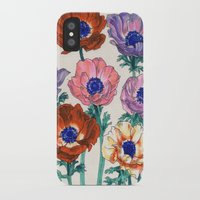 poppies iPhone & iPod Cases featuring poppies by Ania