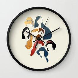 Royal Hair Wall Clock