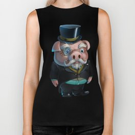Kink Pig Master Rough Dressed to The Nines Biker Tank