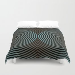 concentric 102 Duvet Cover
