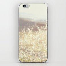 Vintage Wildflowers iPhone & iPod Skin