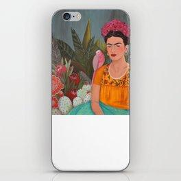 Frida a la casa azul iPhone Skin