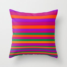Stripe2 Throw Pillow