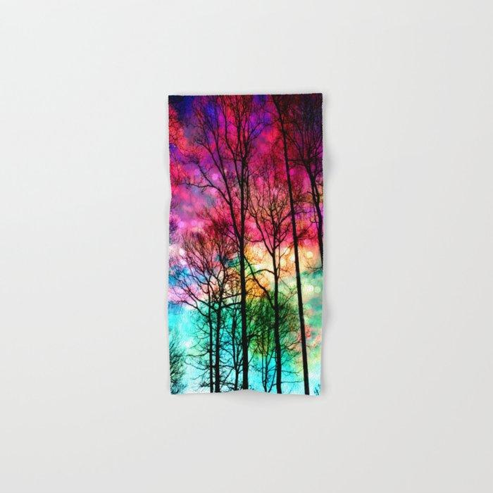 Colorful sky Hand & Bath Towel