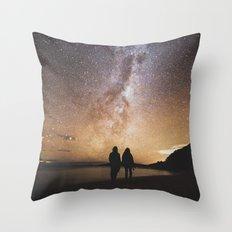 Friends Under The Stars Throw Pillow