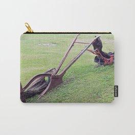 Antique Farm Plows Carry-All Pouch