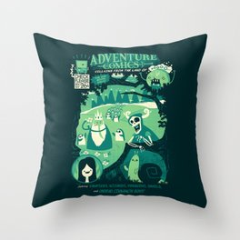 Adventure Comics Throw Pillow