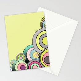 Yellow Color Fantasia Stationery Cards