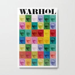 Andy Wharol Metal Print