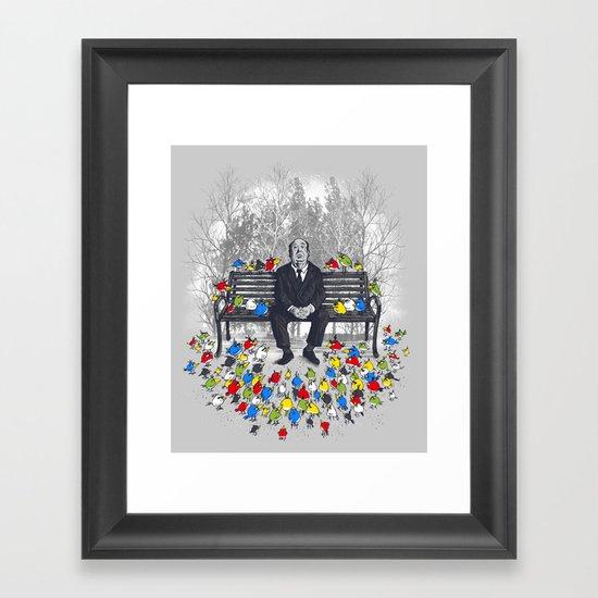 Them Birds Framed Art Print