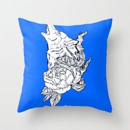 Wolfous Throw Pillow