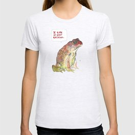 """""""I tire of your excuses."""" T-shirt"""