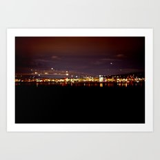 Midnight City Art Print
