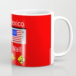 Mexico Wall Coffee Mug