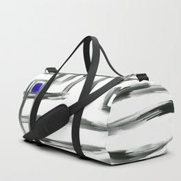 Small Square and Blue Duffle Bag