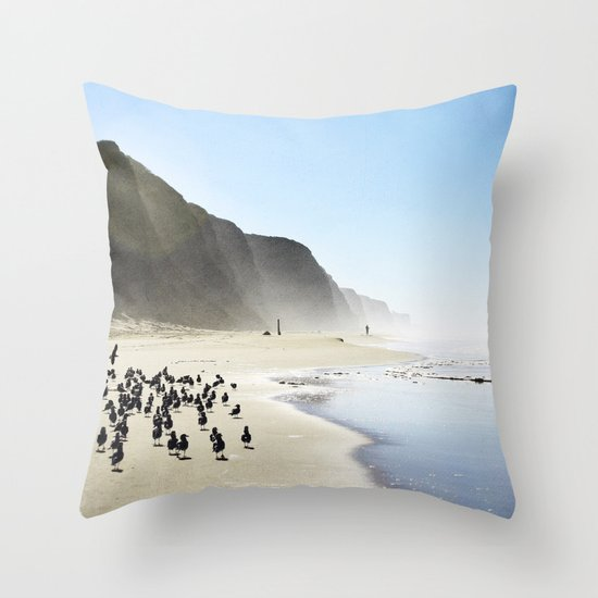 California Dreaming II Throw Pillow