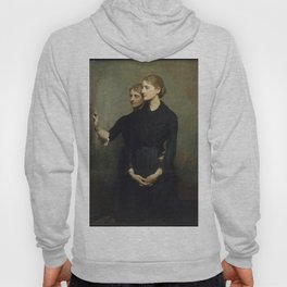 Abbott Handerson Thayer - The Sisters (1884) Hoody