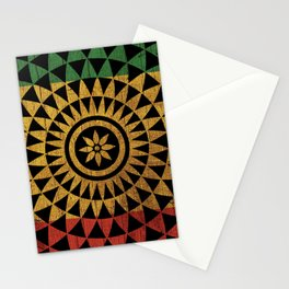 Rasta Flower of Life Stationery Cards