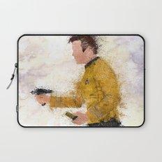 The Captain ( Splatter ) Laptop Sleeve