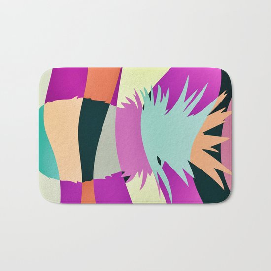 Sliced Ananas Bath Mat
