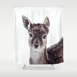 LITTLE FAWN FIONA Shower Curtain
