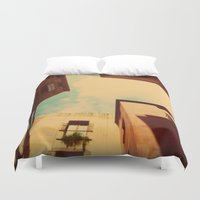 spain Duvet Covers featuring Spain by Emma.B