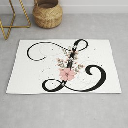 Letter L of the alphabet Rug