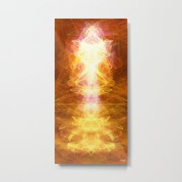 *TAP INTO UNIVERSAL ENERGY *reposting for Greeting Card addition Metal Print