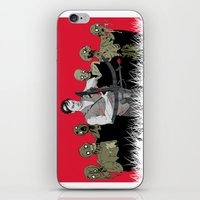 daryl iPhone & iPod Skins featuring Daryl Dixon by ArtisticCole