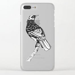 Tui Chevron Design - Dark Clear iPhone Case