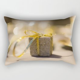 Gold gift Rectangular Pillow