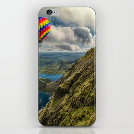 Snowdon Hot Air Balloon iPhone Skin