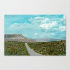 Dirt Road Home II (La Verkin, Utah) Canvas Print