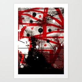 Three Months of Stress and Fear at Home in Los Angeles in 2014 Art Print