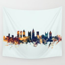 Atlanta Georgia Skyline Wall Tapestry