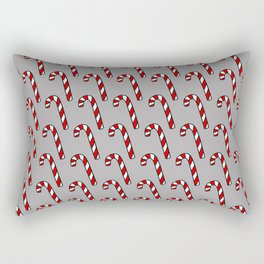 Candy Cane Pattern Rectangular Pillow
