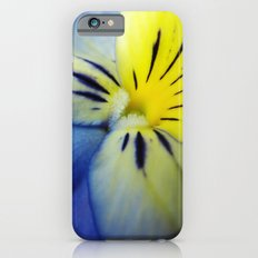 Flower Blue Yellow Slim Case iPhone 6s