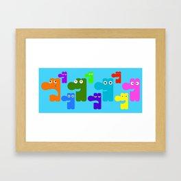 Goofball Nation Framed Art Print