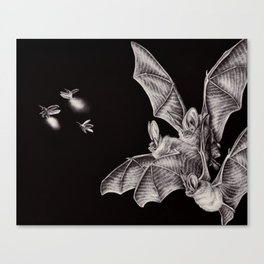 Tiny Hunters I Canvas Print
