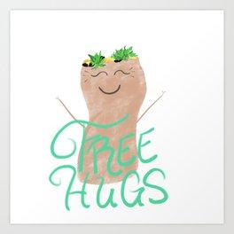 Free Burrito Hugs Art Print