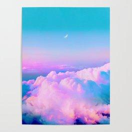 Bubblegum Sky Poster