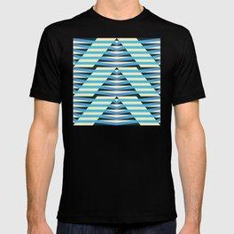 floating rhomboid echo T-shirt