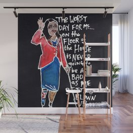 Senator Tammy Duckworth Wall Mural