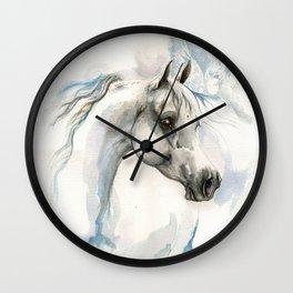 Angel Horse Wall Clock