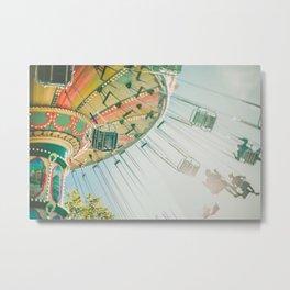 Carrousel Carousel Merry Go round Metal Print
